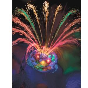 ナイトプール グッズ プール用ライト付き噴水 照明 パーティーグッズ ガーデニンググッズ 庭 ガーデン エクステリア 屋外照明 水遊び おもちゃ 玩具|acomes|02