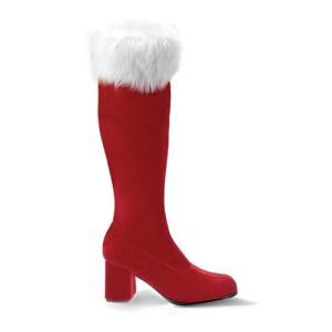新生活 レディース 靴 大きいサイズ もある サンタ ブーツ ゴーゴー プリーザー PLEASER ハロウィン|acomes