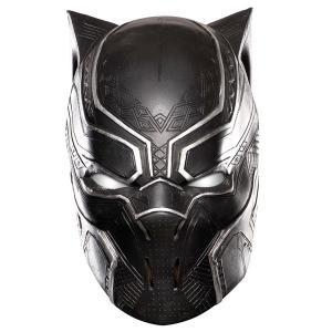映画「シビルウォー/キャプテンアメリカ」より、ブラックパンサーの大人用ビニール製フルマスクです。この...