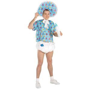 赤ちゃん コスプレ メンズ ベビー 衣装 ハロウィン コスチューム イベント パーティー おもしろ|acomes