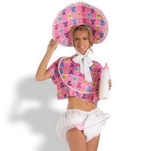 赤ちゃん コスプレ 大人 女性用 ベビー 衣装 ハロウィン コスチューム イベント パーティー おもしろ|acomes