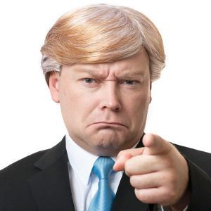 ハロウィン ドナルド トランプ かつら ウィッグ コスプレ 仮装 アメリカ大統領 ヅラ acomes