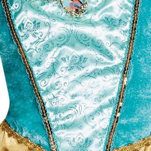 ディズニー コスプレ 子供 コスチューム 人気 ジャスミン ドレス 女の子用 デラックス版 アラジン プリンセス キャラクター 仮装 グッズ|acomes|02
