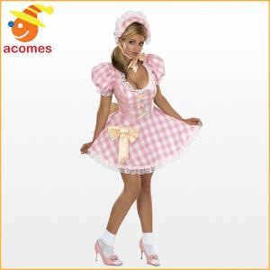 大人 女性用 赤ちゃん服 ベビー服 ピンク ロリータ 幼児 コスプレ コスチューム|acomes