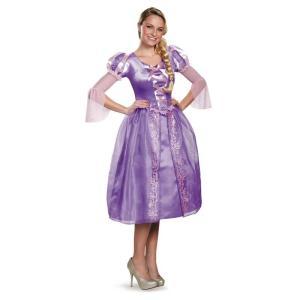 ラプンツェル コスチューム ドレス 衣装 大人 ディズニー プリンセス コスプレ 仮装 レディース|acomes