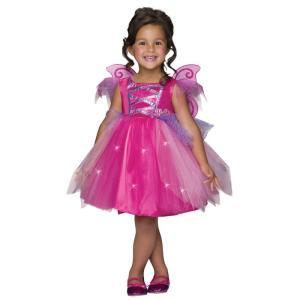 バービー 妖精 コスプレ コスチューム 子供 女の子 キッズ ドレス ピンク ハロウィン 仮装|acomes