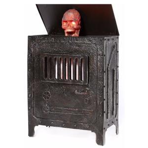 海外 ハロウィン 怖い デコレーション センサー 動く 電動 人形 火葬炉から笑って飛び出す ゾンビ お化け屋敷 装飾 飾り インテリア 恐怖 ホラー グッズ acomes