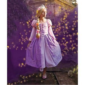 ディズニー コスプレ 子供 コスチューム 人気 ラプンツェル ドレス 衣装 女の子 ハロウィン 仮装 高級 上質 本格|acomes
