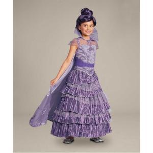 ディズニー・チャンネルの番組「ディセンダント」より、マレフィセントの娘・マルの女の子用コスチューム・...