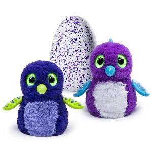 うまれて! ウーモ 海外版 パープルタマゴ 青 紫 Hatchimals おもちゃ 孵化する 鳥 動物 ペット