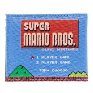 スーパーマリオブラザーズ グッズ 財布 ウォレット ファミコン画面 テレビゲーム|acomes