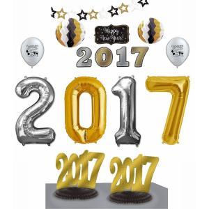 2017バルーン 風船 新年会 パーティ デコレーション 飾り 装飾 インテリア acomes