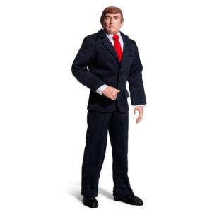 ドナルド・トランプ 大統領 プレジデント 人形 フィギュア 喋る トーク アクションフィギュア 可動式 あすつく|acomes
