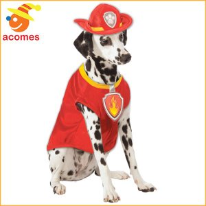 パウパトロール マーシャル ペット 犬 衣装 コスチューム クリスマス イベント パーティー 年賀状 戌年|acomes