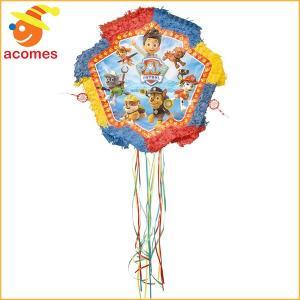 パウパトロール ピニャータ 子供 誕生日 パーティー デコレーション 飾り|acomes