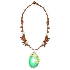 モアナになりきれるネックレスです。  開閉します。 心臓の鼓動のように緑の光が点滅します。  Jak...