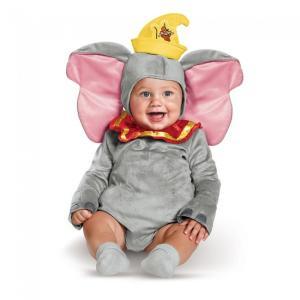 ダンボ 幼児 コスプレ コスチューム 動物 ぞう 赤ちゃん きぐるみ ハロウィン 仮装 ディズニー キャラクター ベビー服|acomes
