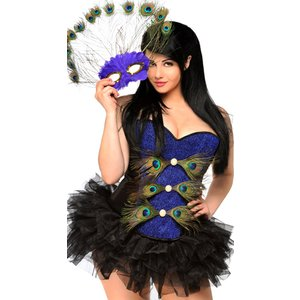 マルディグラ 衣装 鶴 大人 女性用 レディース 大きいサイズ 仮面舞踏会 コスプレ コスチューム セクシー ダンス ゴーゴーダンサー ハロウィン 仮装|acomes