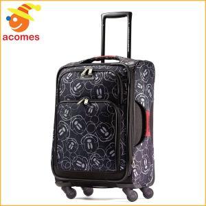 スーツケース 機内持ち込み ミッキー マウス キャリー バッグ アメリカンツーリスター 旅行 かばん ソフト サイドスピナー21 スーツケース ギフト|acomes