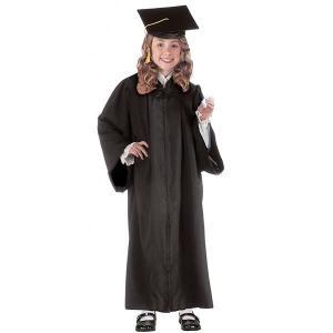 卒業式 発表会 衣装 ローブ 黒 子供 キッズ 裁判官 コスプレ コスチューム|acomes