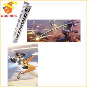 オーバーウォッチ ミニ ポスター 2枚 ブリザード オフィシャル ブラインド ボックス入り テレビゲーム|acomes