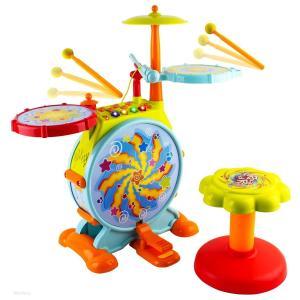 WolVol 子供 ドラム おもちゃ ミュージック 音楽 楽器玩具|acomes