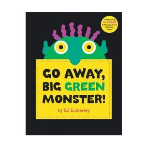 英語 教材 学習 子供 知育 絵本 「Go Away, Big Green Monster 」