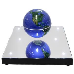 浮かぶ 地球儀 85mm 自転する 入学祝い サイエンストイ 知育玩具 インテリア 教育 グッズ ギフト|acomes