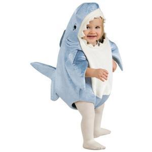 コスプレ 子供 衣装 幼児 人気 サメ さめ 着ぐるみ きぐるみ 赤ちゃん 魚 動物 生き物 生物 コスチューム 仮装|acomes