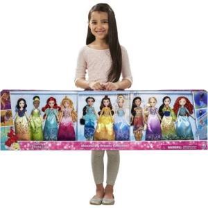 クリスマスプレゼント 子供 ディズニー プリンセス 人形 豪華 セット お姫様 11 フィギュア ギフト プレゼント 子供 おもちゃ acomes