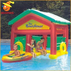 フロート ボートハウス フローティング 遊び 小屋 子供 水上 遊具 プール 水遊び acomes