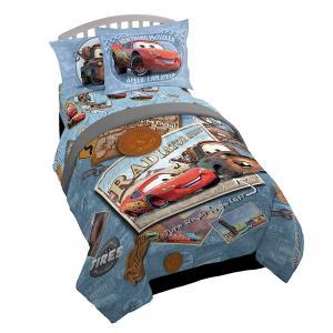 カーズの寝具セットです。100%ポリエステル製  商品内容 ・コンフォーター(掛け布団) ・マットレ...