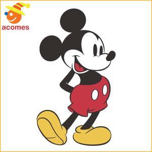 ウォールステッカー ミッキー マウス ジャイアント インテリア 子供 部屋 壁 飾り パーティー イベント|acomes