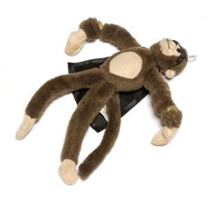 空飛ぶヒーロー猿の人形です。 マントを纏ってマスクを付けた姿がおもしろカッコイイ!  アメリカらしい...