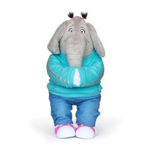 ミュージカル映画「SING / シング」より、シャイで可愛い象のミーナのぬいぐるみです。 ミニサイズ...