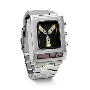 父の日 プレゼント バックトゥザフューチャー 車 デロリアン 次元転移装置 腕時計  ギフト|acomes