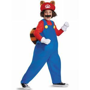 コスプレ 子供 衣装 男の子 人気 タヌキマリオ 向け コスチューム スーパーマリオ 仮装 海外版 テレビゲーム|acomes