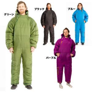 ハロウィン 着る寝袋 セルクバッグ 緑 人型 動ける 歩ける...