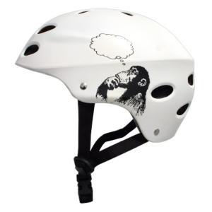 マウンテンボード MBS パーツ ヘルメット 白 ホワイト Bright Idea 海外 スケートボード スケボー スポーツ 玩具 おもちゃ acomes
