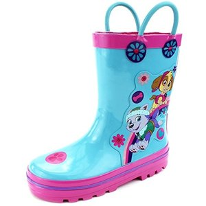 レインブーツ キッズ Nickelodeon 長靴 パウパトロール キャラクター 子供 雨具 梅雨 グッズ|acomes