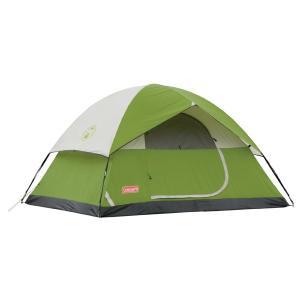 キャンプ・アウトドアに最適な4人用テントです。  *ポリエステル製 *4人用 *センターの高さ約15...