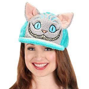 アリス・イン・ワンダーランド 時間の旅 チェシャ猫 キャップ 帽子 ディズニー キャラクター コスプレ 仮装 グッズ|acomes