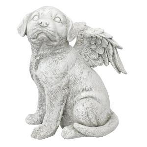 犬 ペットお墓 動物 メモリアル グッズ 石 置き物 Lサイズ 年賀状 戌年|acomes
