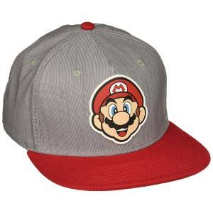 スーパーマリオ 帽子 スナップバック キャップ 日よけ 任天堂  テレビゲーム acomes
