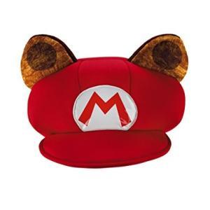 タヌキマリオ 帽子 子供用 コスプレ たぬき ラクーン 日よけ 任天堂 スーパー マリオ ブラザーズ|acomes