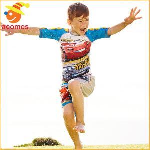 プール 家庭用 カーズ3 子供 ラッシュガード ライトニング マックィーン ディズニー プール 水遊び 海 ビーチ|acomes