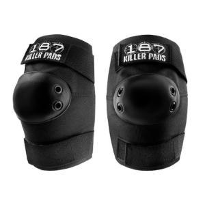 肘 プロテクター 187 Killer エルボーパッド 黒 スケートボード マウンテンボード インラインスケート ローラースケート BMX サバイバルゲーム acomes