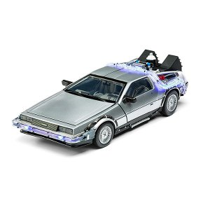 バックトゥザフューチャー 車 デロリアン おもちゃ 車 デロリアン おもちゃ 模型 フィギュア エフェクト付|acomes