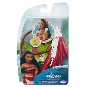 ディズニー作品モアナと伝説の海より、モアナのなりきりアクセサリーセットです。 対象年齢3歳以上  商...