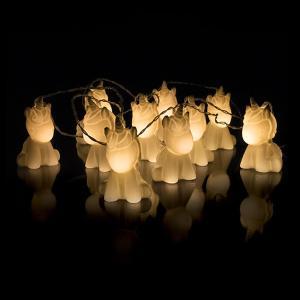 ユニコーン 人形 ストリングライト 照明 10個 セット インテリア デコレーション 装飾 飾り acomes